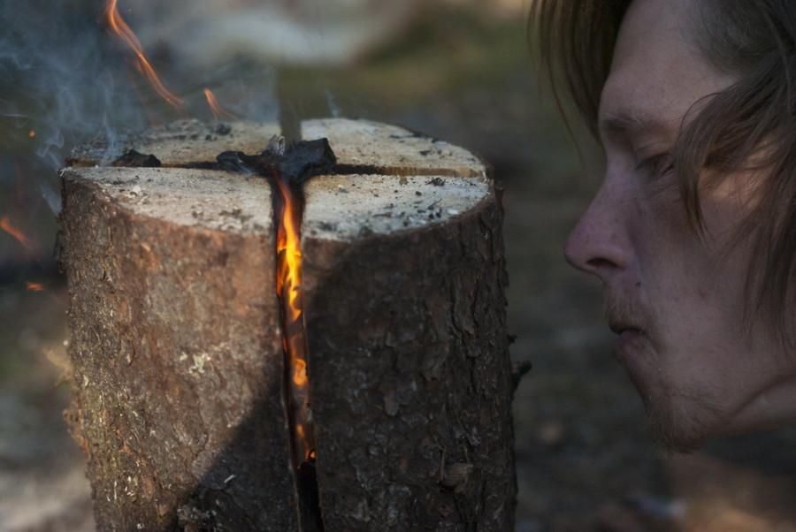Костер индейская свеча