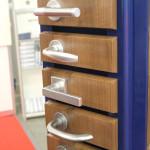 Алюминиевые дверные ручки Hoppe с механизмом Secustik