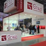 Выставочный стенд оконной компании Grain на Batimat Russia 2015