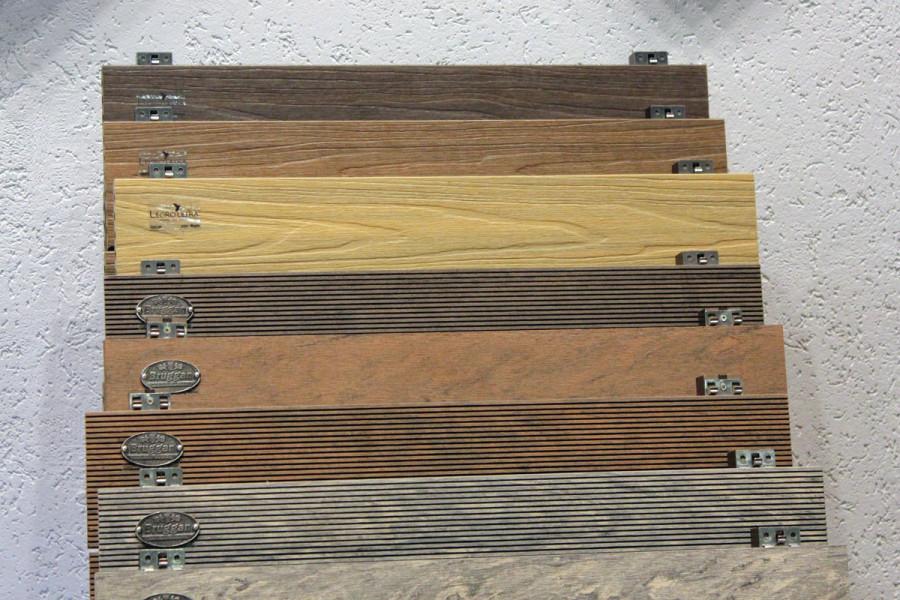 Текстура террасной доски
