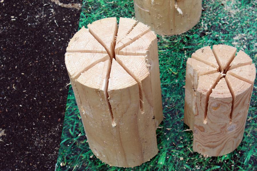 Заготовки для финской свечи