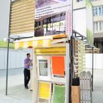 Декорирование окон: рулонные шторы, жалюзи