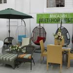 Плетеная мебель для загородного отдыха