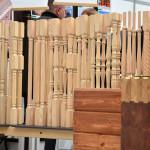 Модельный ряд деревянных балясин