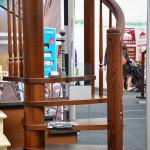 Образец винтовой деревянной лестницы