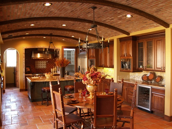 Деревянная мебель для итальянской кухни