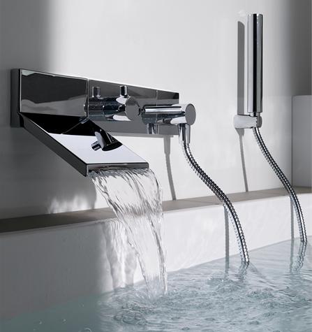 Каскадный смеситель водопад производства Zucchetti