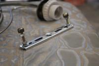 Металлическая крепежная планка для люстры