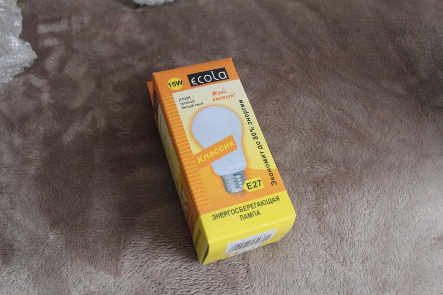 Энергосберегающая лампочка Ecola Classic 15 Вт (цоколь E27)