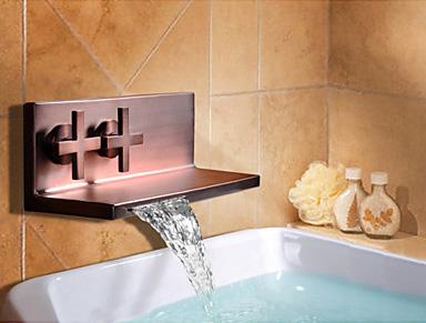Настенный водопадный смеситель American Standard