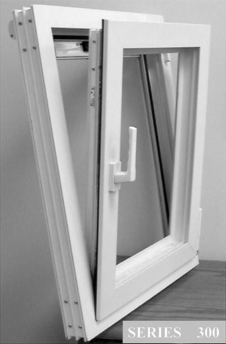 Поворотно-откидные окна из стеклокомпозита Inline Fiberglass