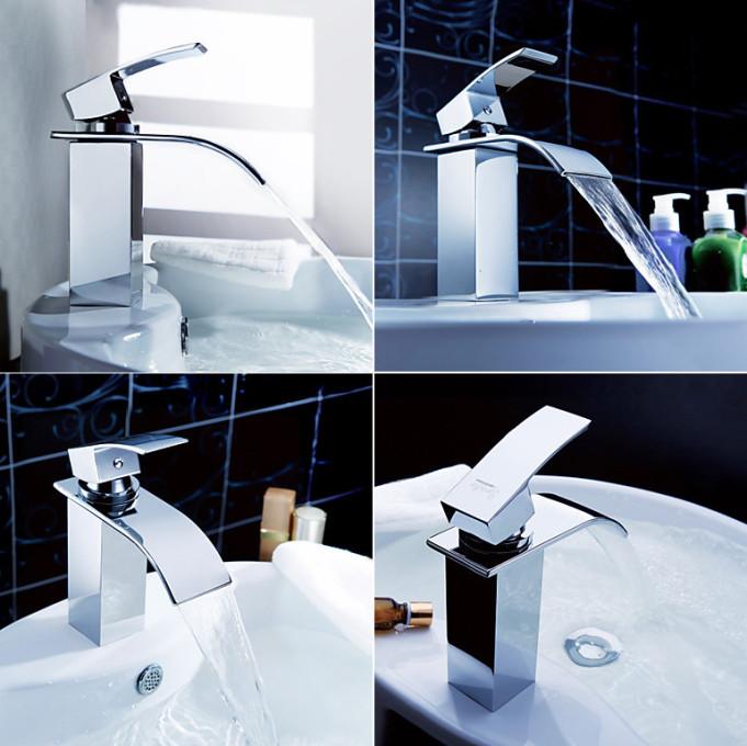 Смеситель водопад для ванной Sprinkle