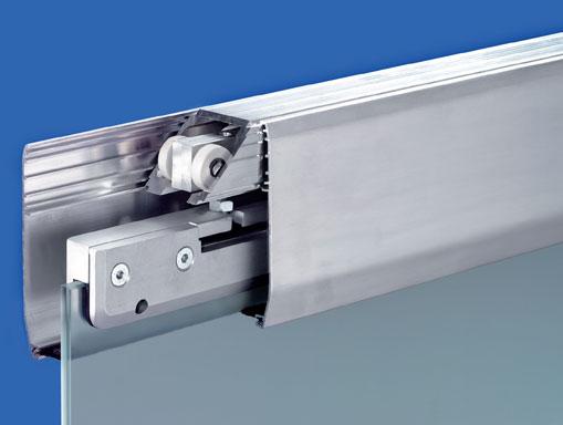 Устройство алюминиевого профиля для раздвижных перегородок