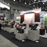 Выставочный стенд компании Yanmar (японское энергетическое оборудование)