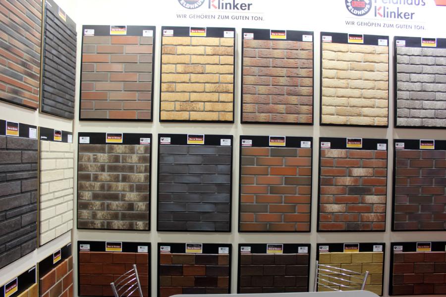 Разнообразие цветовых решений клинкерной плитки