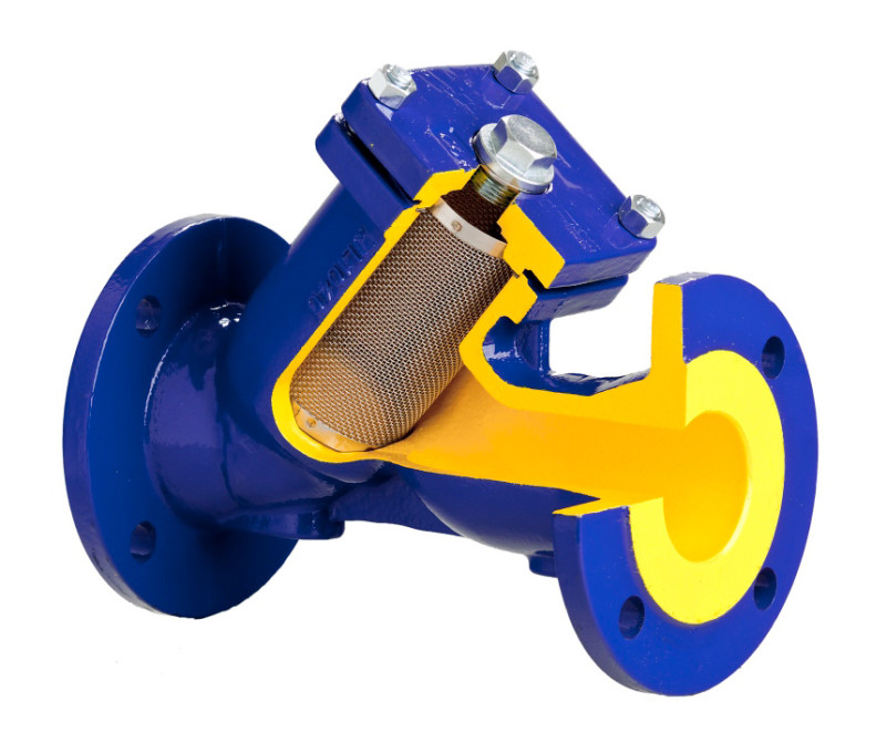 Фланцевый фильтр механической очистки