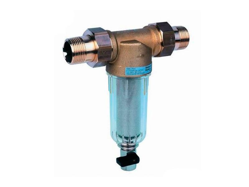 Прямой фильтр грубой очистки воды