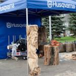 Стенд компании Husqvarna на выставке «Эксподрев 2015»