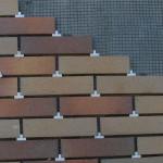 Укладка фасадной клинкерной плитки