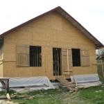 Строительство каркасно-щитового дома