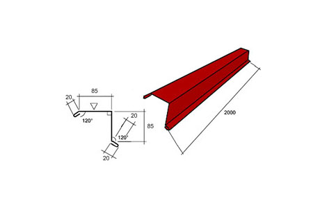 lengte dak berekenen