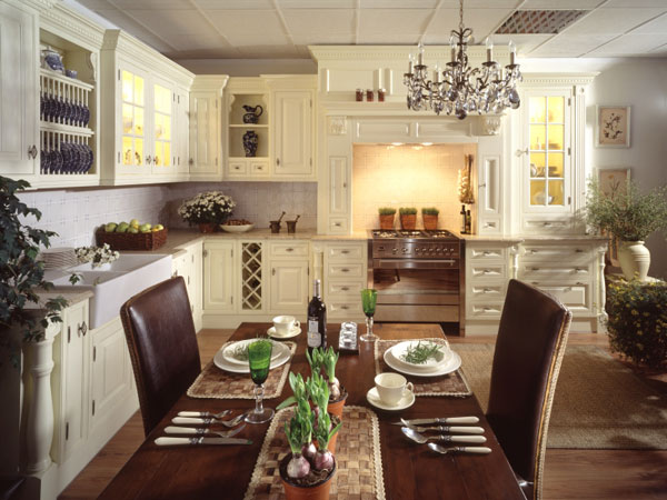 Кухни в английском стиле: мебель, интерьер, аксессуары
