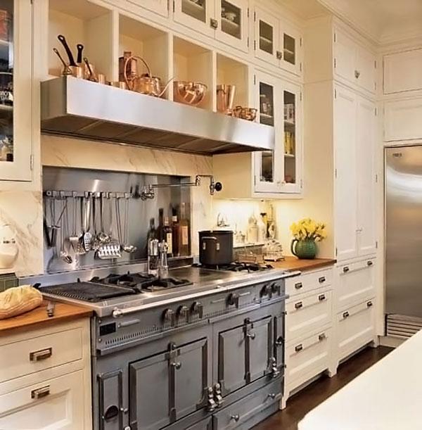 Встроенная в кухонный гарнитур плита