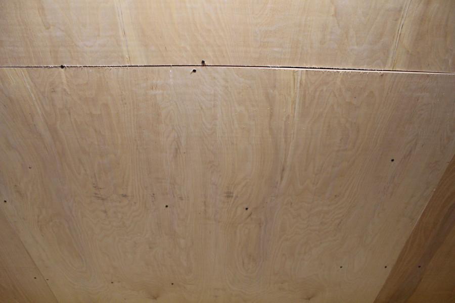 Готовый звукоизоляционный потолок: изовер + фанера