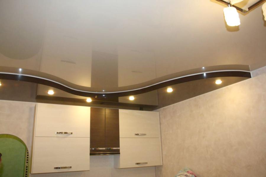 Карнизная подсветка потолка