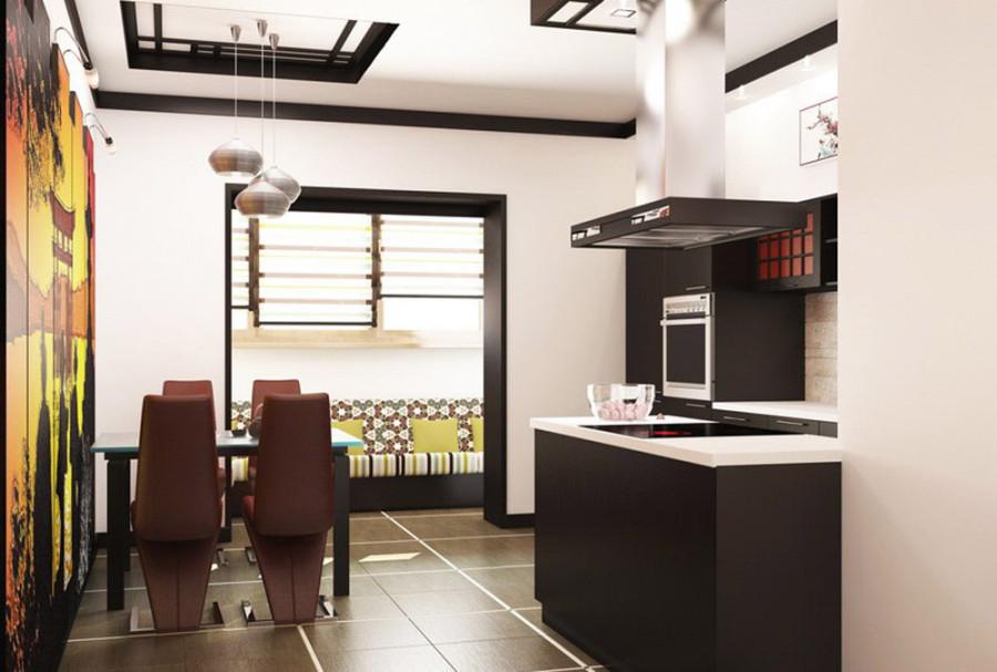 Мебель японской кухни