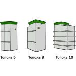Основной модельный ряд канализации Тополь