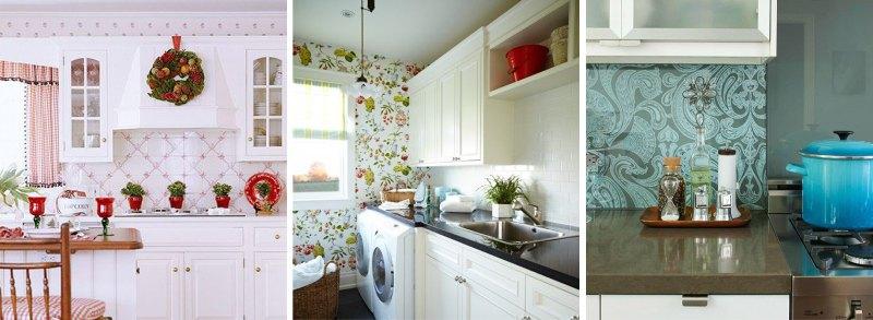 Различные варианты оформления кухни