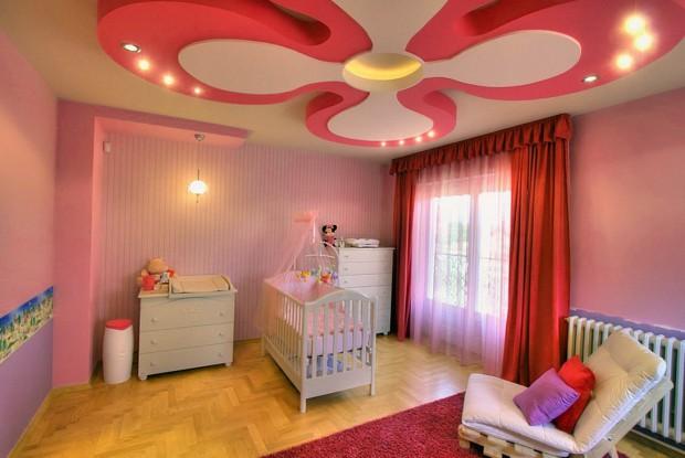 Фото интерьера детской комнаты для девочки