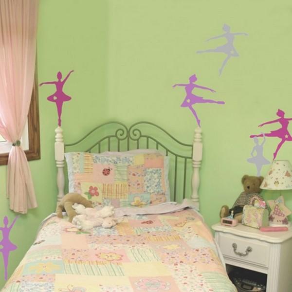 Спокойные цвета для детской комнаты для девочки