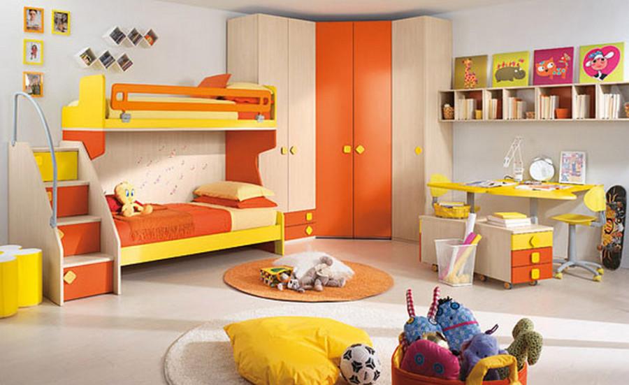 Совмещение игрового и спального пространств