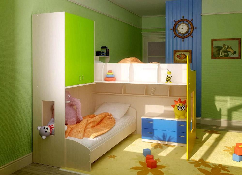 дизайн детской для разнополых детей идеи интерьера