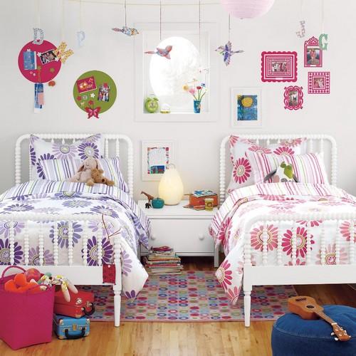 Цветовое разделение зоны для сна