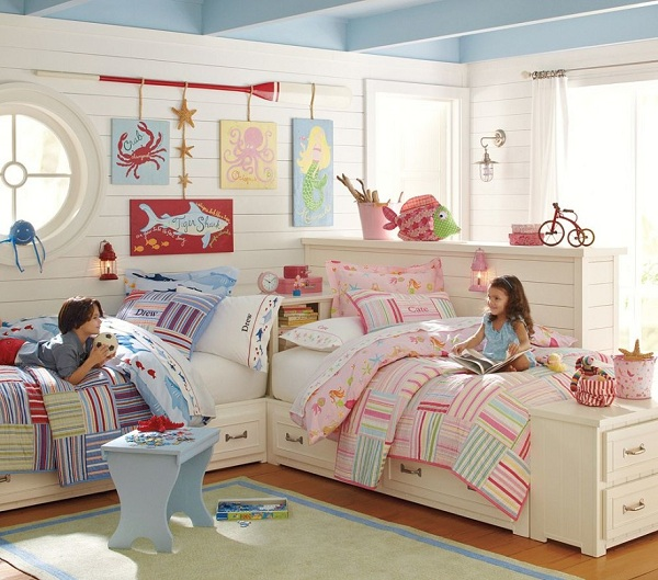 Обустройство детской комнаты для разнополых детей