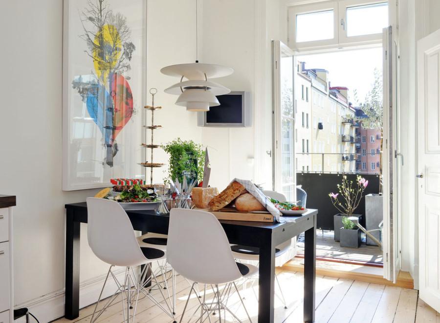 Фото креативного дизайна интерьера кухни