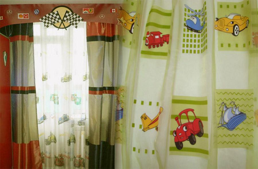 Своими руками шторы для детской 41