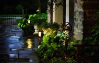 Уличное освещение для загородного дома своими руками