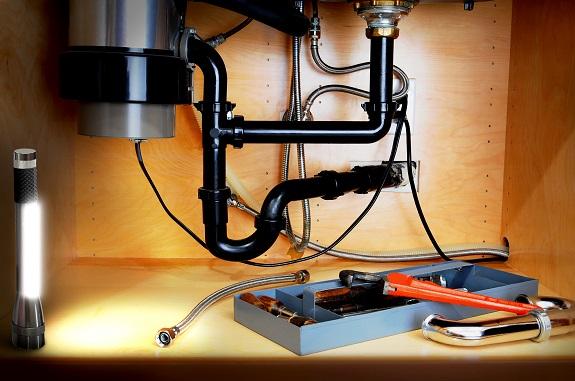 Электрический диспоузер работает от сети