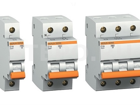 Разные виды автоматических выключателей