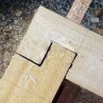Соединение деревянного бруса