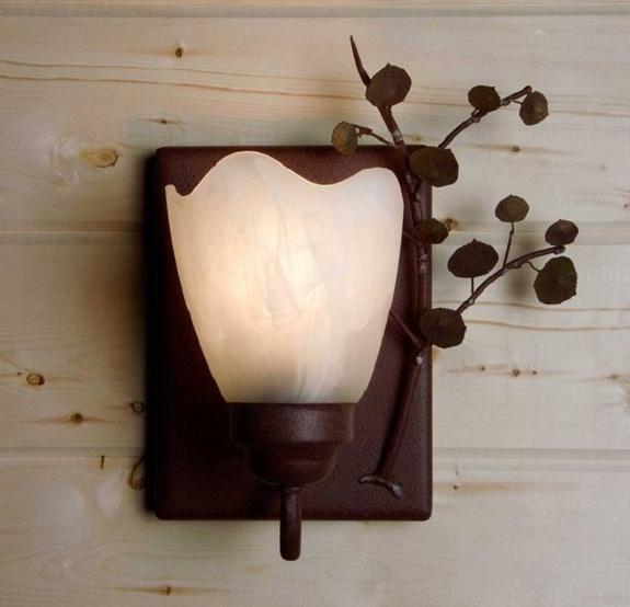 Фото бра в форме цветка