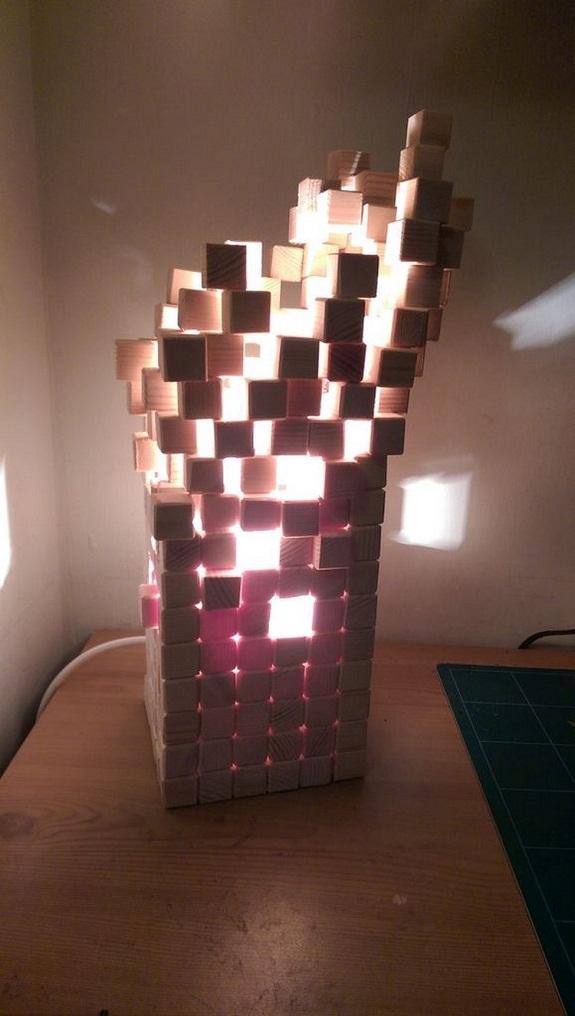 Готовая лампа