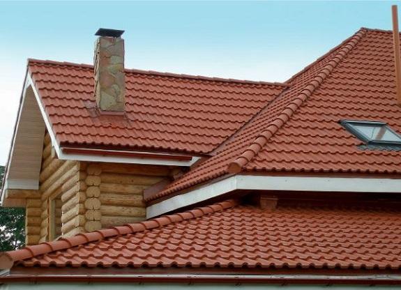 Крыша из полимерной черепицы