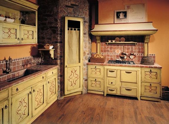Кухня в стиле этника