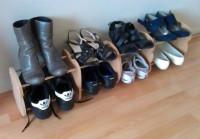 Оригинальное решение для обувницы