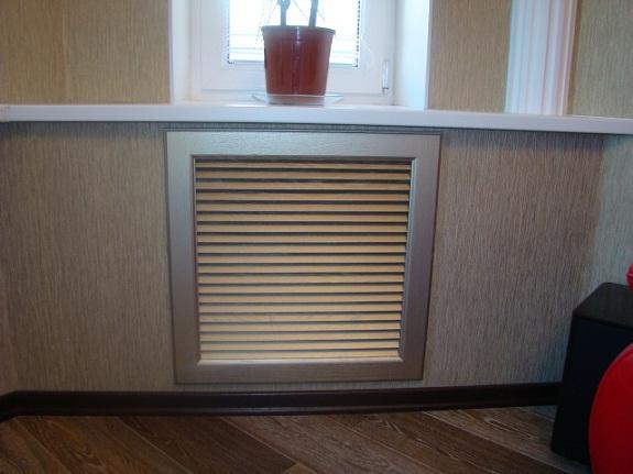Пластиковые экраны для радиаторов